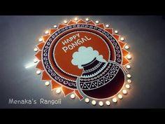 Indian Rangoli Best and easy Rangoli Design - The Handmade Crafts Rangoli Side Designs, Rangoli Designs Latest, Simple Rangoli Designs Images, Free Hand Rangoli Design, Small Rangoli Design, Rangoli Ideas, Rangoli Designs Diwali, Rangoli Designs With Dots, Mehndi Art Designs