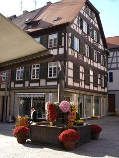 Lahr, Germany Wonderful Places, Microsoft, Places To Visit, Multi Story Building, Germany, Street View, Windows, Window Displays, Architecture