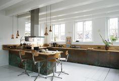 Vtwonen Keuken Houten : Glazen keukenwand vt wonen kleur early dew keukenglas