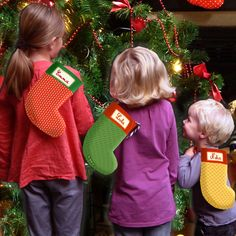 Chaussettes de Noël personnalisable pour les petits et les grands :)