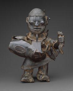 Male Soldier, brass, Lower Niger (1455–1640), The Metropolitan Museum of Art.