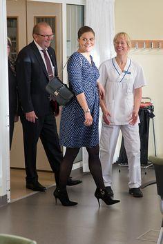 Crown Princess Victoria and Prince Daniel Visit the Varmlandon November 18 2015 in Varmland Sweden