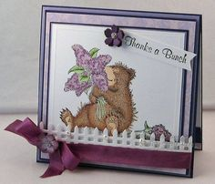 Thanks a Bunch by Twinshappy - Cards and Paper Crafts at Splitcoaststampers