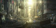 Post-Apocalyptic Concept Art | Defonten's Art Blog » Concept Art