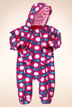 275f2a907 Marks & Spencer Baby/ children Hooded Floral Zip Through Snowsuit £20  Baby Girl