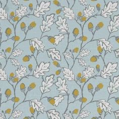 Acorn Trail in Duckegg 01 by Studio G Fabric | Curtain Fabric Store