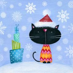 Ileana Oakley - cat xmas cute.jpg
