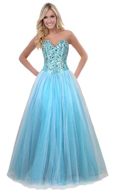FairOnly Sweethear Women Long Evening Formal Prom Dress Size 6 8 10 12 14 16