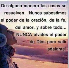 FE... Dios todo lo puede