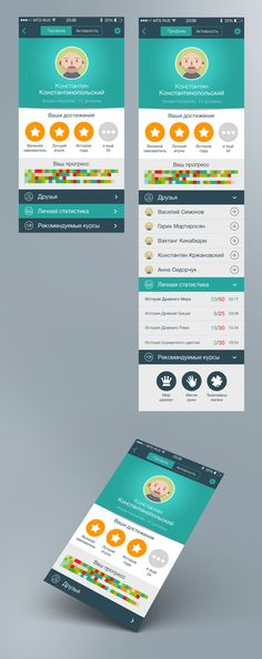 Netonew apps for iPhone. iOS 7 Design