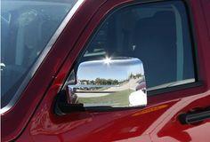 Dodge Nitro Accessory - Putco Dodge Nitro Chrome Mirror Covers