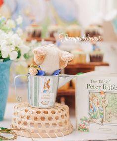 Beatrix Potter Peter Rabbit Birthday Party Ideas | Photo 2 of 17