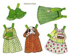 Ginghams Paper Dolls 10