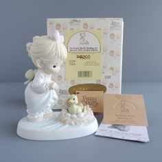 Vintage Precious Moments An Event Worth Wading For Figurine