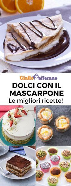 Delicious Dinner Recipes, Yummy Food, Yummy Recipes, Nutella, Flan, Ricotta Dessert, Easy Desserts, Dessert Recipes, Mascarpone Recipes