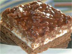 Šokolaadi-vahukommi-riisiruudud