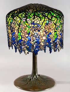 Tiffany Lamps For Sale | Tiffany Studios Lamps & Tiffany Favrile Glass @ Collectics Antiques ...