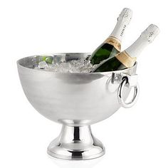 Champagne on ice! Oxford Serving Bowl, $89.95 #ZGallerie