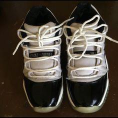 on sale 31a85 4c3bd Jordan Shoes   Size 6 Jordan 11 Concord Lows   Color  Black White