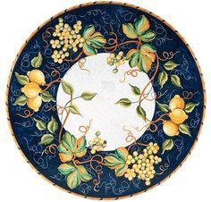 Italian Volcanic Stone Tables from Villa & Garden Mirror Painting, China Painting, Ceramic Painting, Ceramic Art, Ceramic Table, Ceramic Pottery, Pottery Art, Italian Pottery, Plate Design