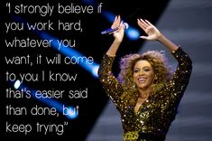 <b>If we can't be Beyonce, we can at least learn from her.</b>