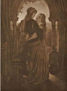 Joseph Noel Paton - Romeo and Juliet
