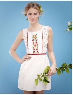 Suite Blanco 2014, vestido