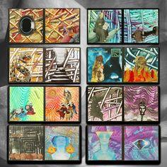 the Hero's Journey van Hella Kuipers op canvas, behang en meer Hero's Journey, Poster, Van, Canvas, Painting, Journaling, Mixed Media, Bible, Products