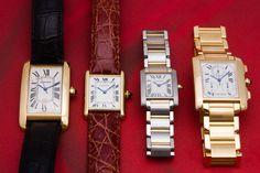 Tank Cartier Watches for Men