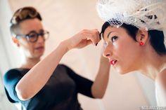 La sposa in corto...hairstyling & make up Francesca Bonaldo per Giorgio Parrucchieri by Bonaldo (Treviso-Italia