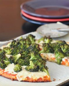 ... concerned. Great example: Spabettie's Lemony Blackened Broccoli Pizza