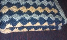 Catherine Wheel Stitch Blanket - The Yarn Box The Yarn Box