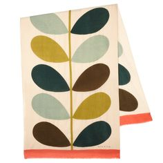Orla Kiely Giant Stem Print Scarf #wish_okny