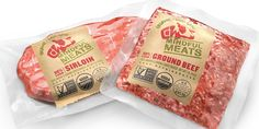 Mindful Meats - The Dieline -
