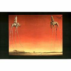 The Elephants, c.1948 Poster Print by Salvador Dalí, 36x24 Fine Art Poster Print by Salvador Dalí, 36x24 by Generic, http://www.amazon.com/dp/B000ACLPMA/ref=cm_sw_r_pi_dp_EOB-pb1XG08S0