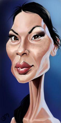 Lucy Liu por Bruno Munier                                                       …