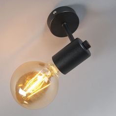 Shop for Industrial Wall Lamp Black - Facil 1 online!