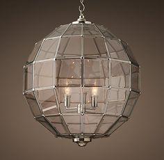 Street Gas Lamp Pendant