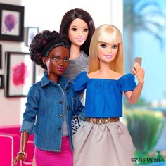 """""""This is a photo-worthy moment!  #TheDollEvolves #barbie #barbiestyle"""""""