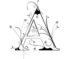 The Letter A by wasteddime on DeviantArt