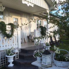 Shabby and Charme: Un magnifico outdoor a casa di Ingela in Svezia