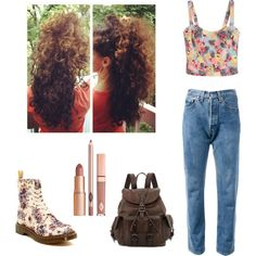 """The good old 501"" by alnmag on Polyvore"
