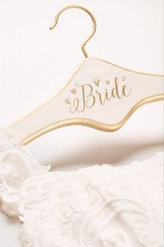 Painted Bride Hanger - Ivory
