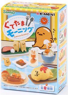 Gudetama egg Breakfast Re-Ment miniature blind box 2