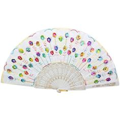 Spanish Style Dance Wedding Party Lace Folding Plastic Hand Fan, Peony Pattern ** Check out this great product. (This is an affiliate link) #ToolGadgetSets