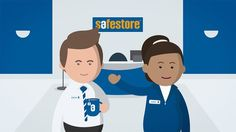"The last 3 episodes of our series of snack-size animations for self-storage giants Safestore.  00:00 Benefits of Business Storage 00:42 Decluttering 01:18 Life Events 02:20 Moving House  The videos provide helpful tips to customers; from storage information to the ""do's and don'ts"" of decluttering, and are intended primarily for use in-store for sales staff to use with customers.  Watch Episodes 1-4 - https://vimeo.com/154575017"