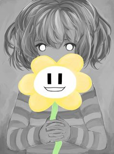 Undertale - Frisk and Flowey