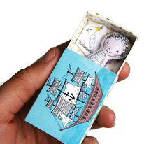 Miniature Milo the sailor boy pocket doll in by lovelysweetwilliam, $15.50