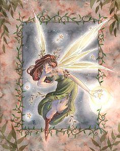 Sara B Illustration - Whimsical Illustration & Fantasy Art Fairy Dust, Fairy Land, Dragons, Spring Fairy, Kobold, Fantasy Pictures, Fairy Pictures, Unicorns And Mermaids, Beautiful Fairies