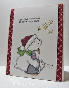Cute Christmas Friends by nancy littrell - Cards and Paper Crafts at Splitcoaststampers